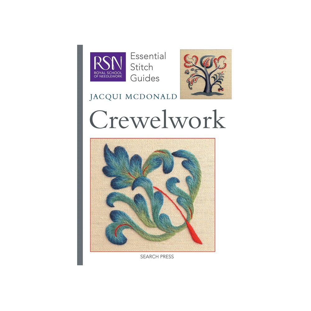"Raamat ""RSN Essential Stitch Guides: Crewelwork"""