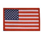 Triigitav Aplikatsioon; USA lipp / Embroidered Iron-On Patch; US Flag / 6,5 x 4cm