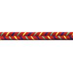 Rahvusliku ornamendiga kirju pael / Flower lace / 7mm