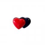 Kaks südant, kannaga nööp 15mm/24L