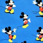 `Miki hiir` puuvillane kangas Disney `Minc` 140cm 00794-42