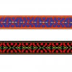 Rahvusliku ornamendiga kirju pael Art.9453000 / EM / 3cm