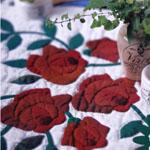 Floral Patchwork Quilt