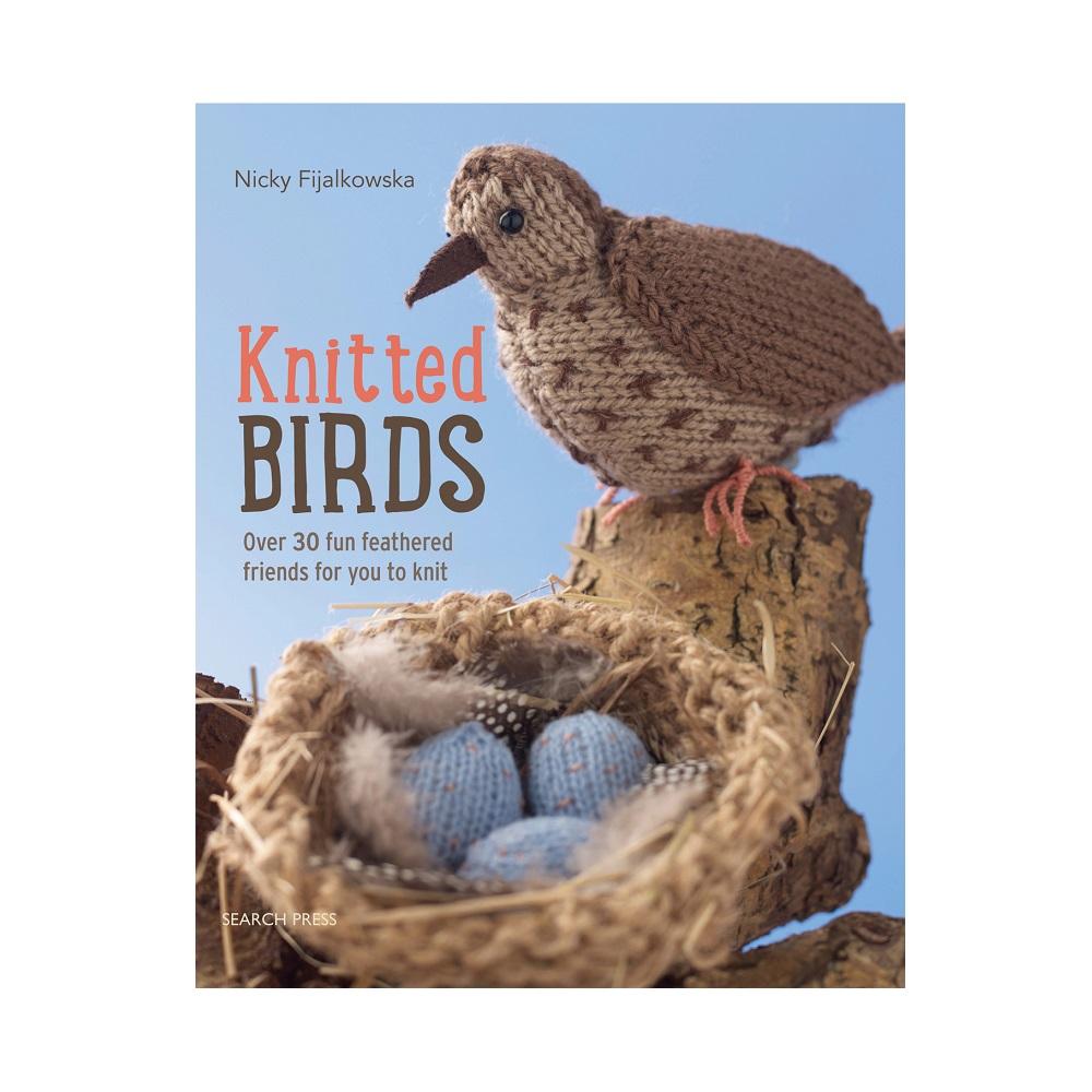 "Raamat ""Knitted Birds"""