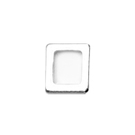 Kandiline rõngas / Rectangular Connector Ring / 6,2 x 6mm