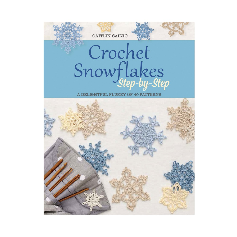 "Raamat ""Crochet Snowflakes Step-by-Step"""