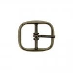 Metal buckle, 30x26 mm for belt width 20 mm