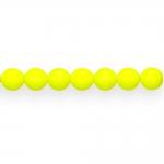 Ümarad neoonvärvides matid või läikega klaashelmed 8mm, Preciosa