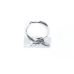 Väike rõngas liimitava medaljoni tagusega / Glue-On Loop / 3,5mm