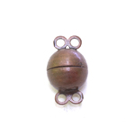 Magnetkinnis / Spherical Magnetic Clasp / 10 x 6mm
