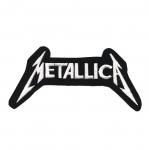 Triigitav Aplikatsioon; ansambel Metallica logo 14x7cm