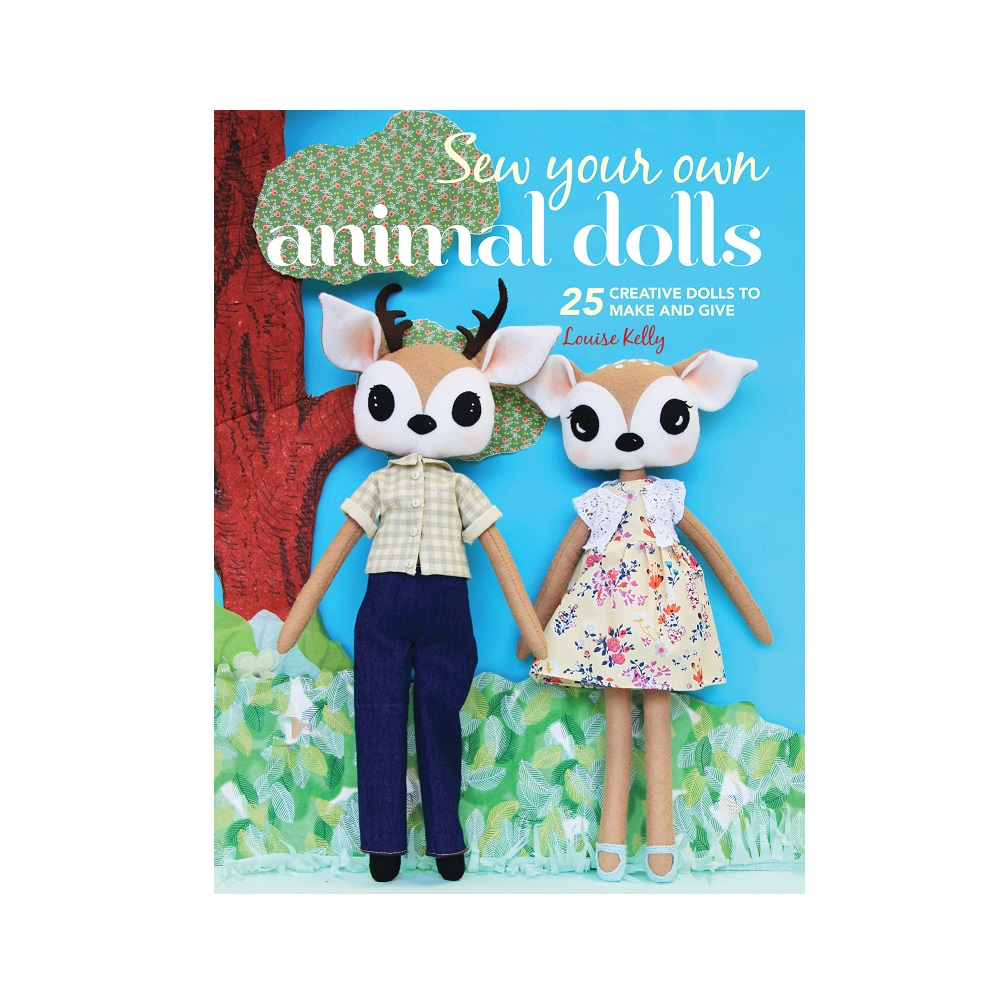 "Raamat ""Sew Your Own Animal Dolls"""