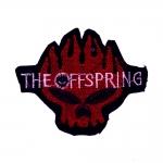 """Triigitav Aplikatsioon; Pealuu, """"The Offspring"""" 10,5x8,5cm"""