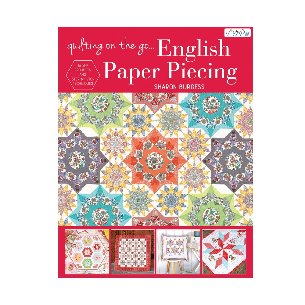"Raamat ""Quilting on the Go: English Paper Piecing"""