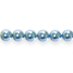 Czech Jablonex, Round Glass Pearl Beads (Imitation Pearls),11mm