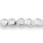 Roosiõiekujuline ümmargune kristall 12x10mm