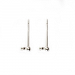 Metal Earring Billet / 13 x 2mm