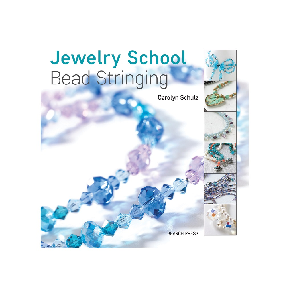 "Raamat ""Jewelry School: Bead Stringing"""