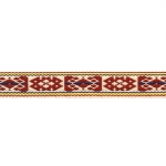 Kodavere muster, rahvuslikel motiividel dekoratiivpael / laiusega 20mm
