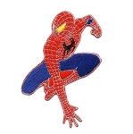 Triigitav Aplikatsioon; Ämblikmehe / Embroidered Iron-On Patch; Spiderman / 10 x 6,5cm