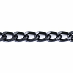 Decorative metal chain (aluminum) 18 x 12 x 3,2 mm