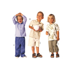Püksid 92 - 116 cm / Pants / Burda 9793