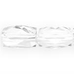 Ristkülikukujuline tahuline pikuti läbistatud auguga kristall 22x18mm