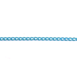 Decorative metal chain (aluminum) 6 x 3,5 x 1 mm