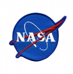 Triigitav Aplikatsioon Nasa logo 9,5x7cm