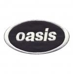 Triigitav Aplikatsioon; ansambel Oasis logo 10x5,5cm
