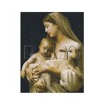 Tikkimiskomplekt Maarja lapsega (Ruyi) RY-2246