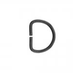 Полукольцо, D-образное кольцо, подходит для тесьма 20мм