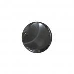 Must, laineline, kannaga plastiknööp 15mm/24L
