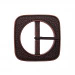 Metal buckle ø57 mm for belt width 40 mm