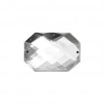 Kandiline tahuline õmmeldav dekoratiivkivi 35x25mm, üks kristall pakis