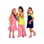 Kleidid & püksid, Kasv 98-128 cm / Dress & pants / Burda 9703