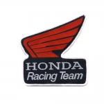`Honda Racing Team` vapp tikitud triigitav piltaplikatsioon 9,5x8,8cm