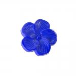Lillekujuline, kannaga plastiknööp 18mm, 28L