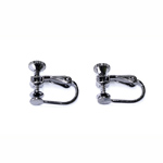Adjustable Clip On Earring; 2pc / 15 x 9mm