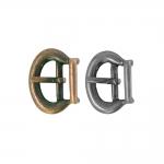 Metallist ümara vormiga, pannal 20x15 mm rihmale laiusega 10 mm