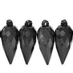 Hulknurkne piisakujuline kristall 34x14mm