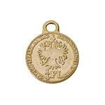 Mündi/medaljonitaoline riputis aasaga 16mm