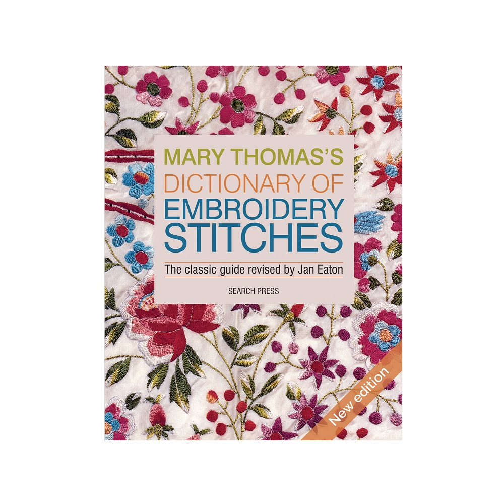 """Raamat """"Mary Thomas's Dictionary of Embroidery Stitches"""""""