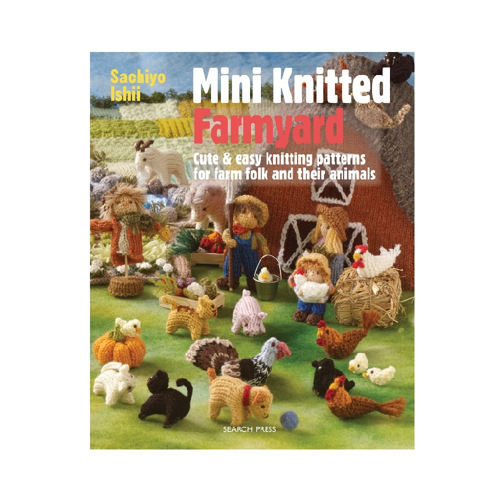 "Raamat ""Mini Knitted Farmyard"""