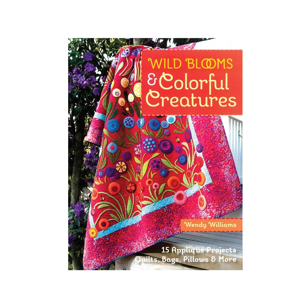 "Raamat ""Wild Blooms & Colorful Creatures"""