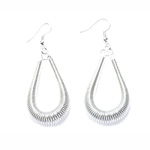 Droplet Wire Earring; 2pc / 60mm