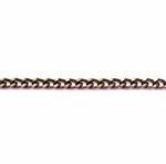Декоративная металлическая цепь 7 x 4,8 x 1,4 мм