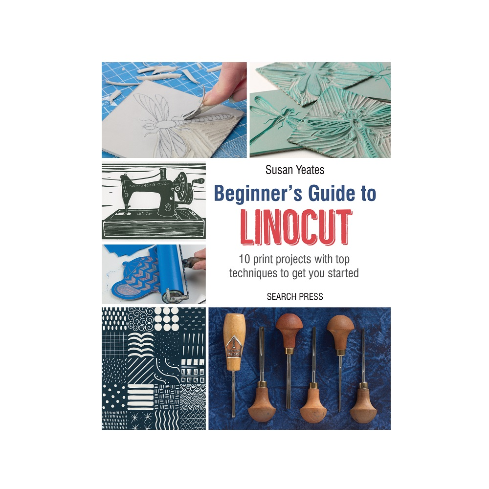 "Raamat ""Beginner's Guide to Linocut"""