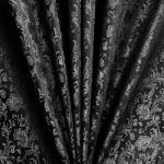 Pidulik, kauni läikega, kerge reljeefse ornamendimustriga kostüümikangas 619732; 138cm