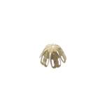 Pitsiline lillekujuline pärlikübar / Bead Cup / 14mm